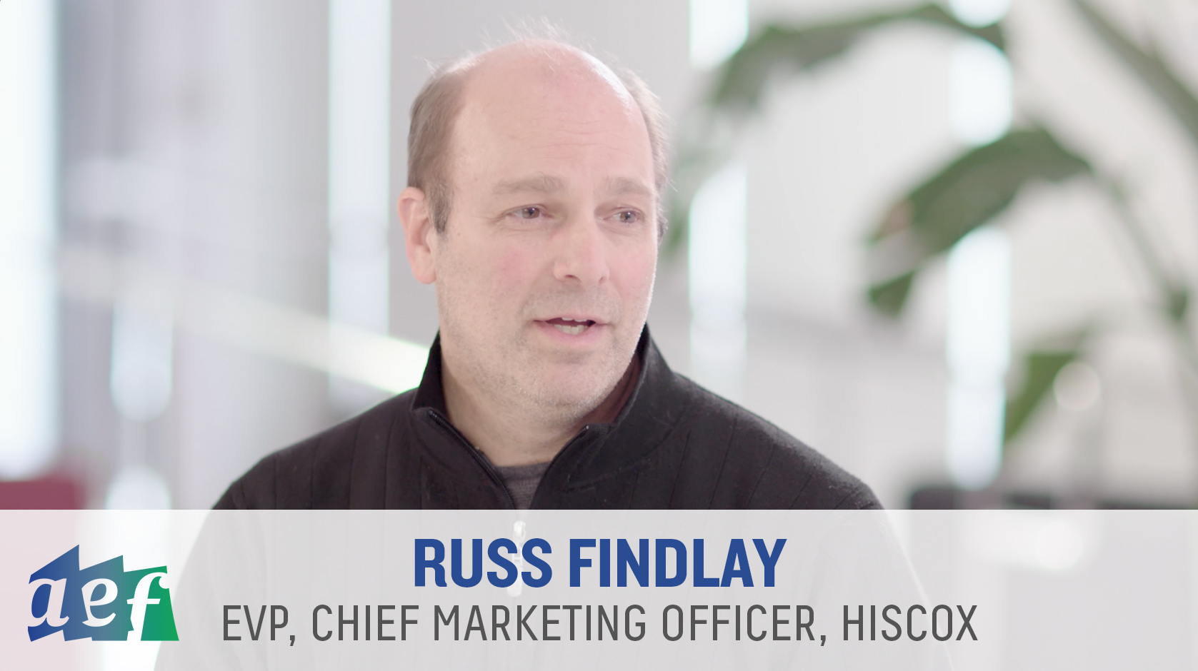 Russ Findlay at Hiscox