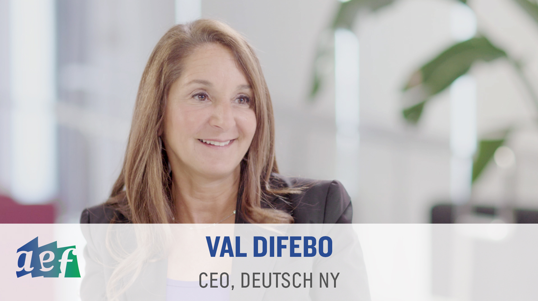 Val DiFebo at Deutsch NY