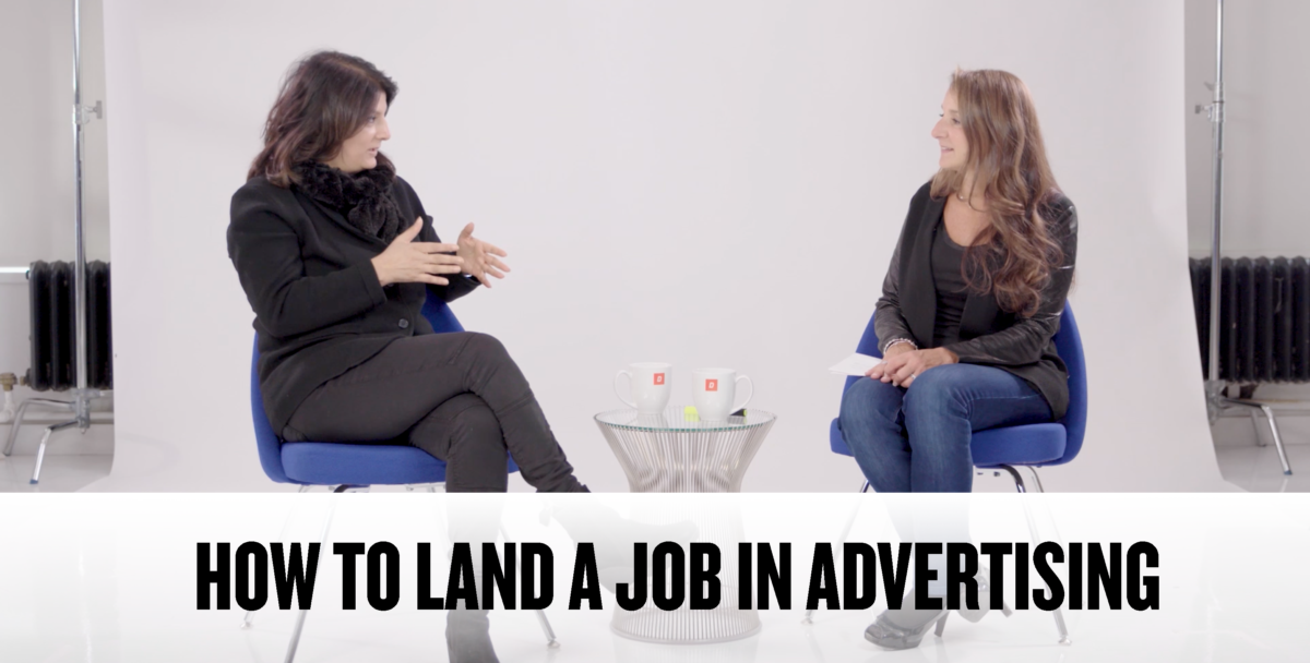 Industry Conversations: How to Land a Job in Advertising