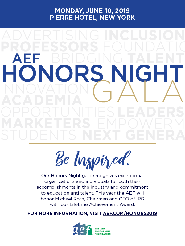 Honors Night 2019 save the date