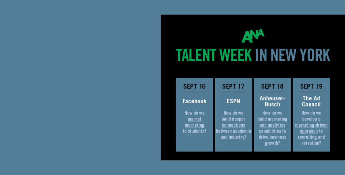 Upcoming Talent Week