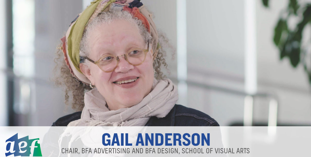 AEF Industry Conversation with Gail Anderson