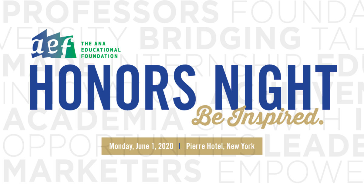 Honors Night 2020 - Save the Date