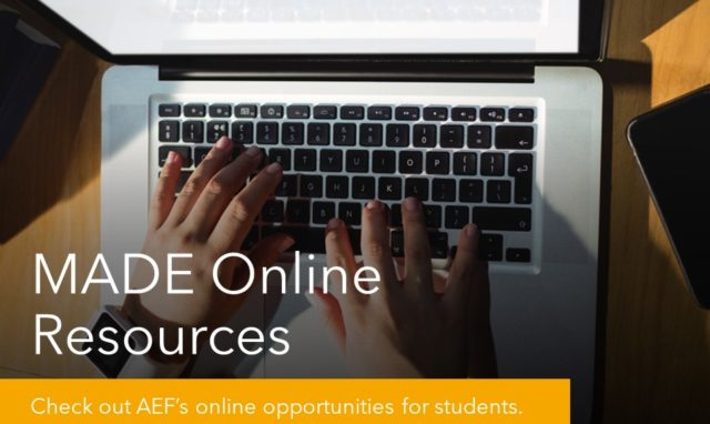 2020 MADE Online Resources