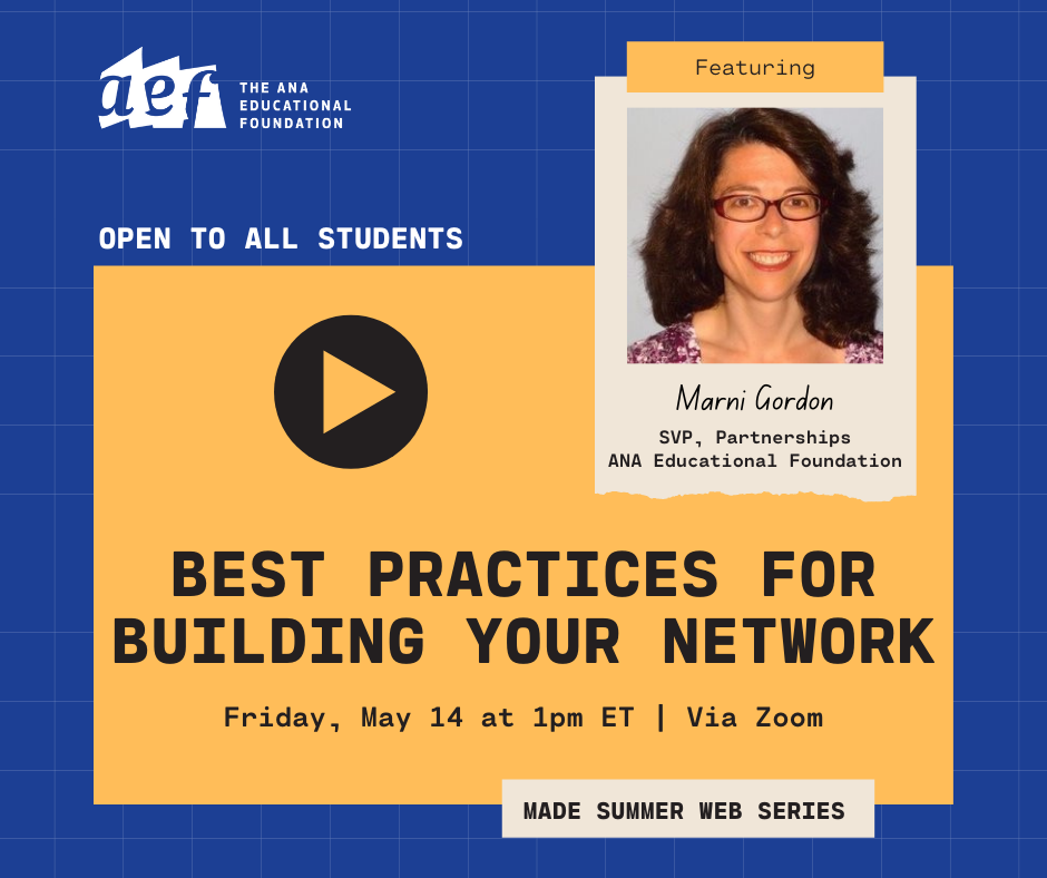 Building Your Network - 2021 MADE Episode